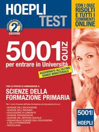 Formazione primaria 4001 quiz for Simulazione test scienze della formazione primaria