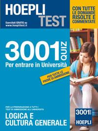 I quiz per tutti 3001 quiz for Simulazione test scienze della formazione primaria